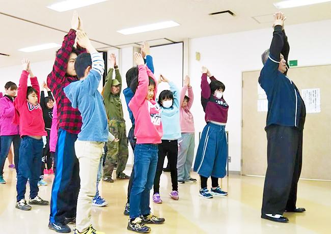 地域活動でのダンスレッスンのPhoto